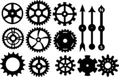 My Crafty Life...: Freebie - Cogs and Spinners free cut files for your digital cutters, Brother Scan n Cut, Silhouette etc.