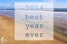 2014--best year ever.  St. George Island, Florida