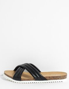 Dusk Slide in Black from Seychelles