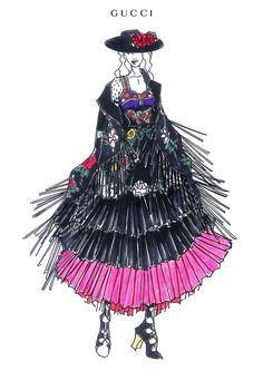 新生「グッチ」マドンナのためにデザインしたジプシールックを公開 | Fashionsnap.com