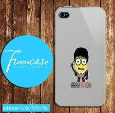 Harry Potter minion case for iphone 4/4s case iphone by FreenCase, $15.55