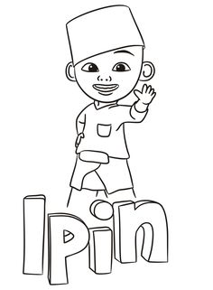 Coloring Pages Upin Dan Ipin Ouvintedalua