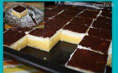 Krémeše (fotorecept) - Recept Sweet Desserts, Sweet Recipes, Russian Recipes, Beautiful Cakes, Macarons, Nutella, Tiramisu, Cheesecake, Food And Drink