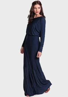 Marcia Maxi Dress In Navy
