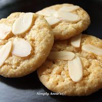 Almond paste cookies by Tara