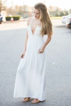 White Legend Maxi Dress – Swoon Boutique