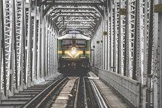 Tren, Puente, Transporte, Pistas