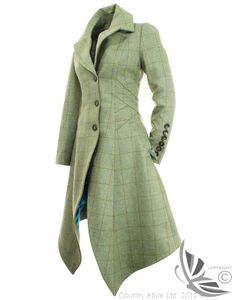 LiBErty FREEdom Sarah Long Coat - Clayton Tweed