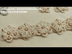 Tatting Earrings, Tatting Jewelry, Tatting Lace, Needle Tatting Tutorial, Hand Gloves, Diy Crafts For Gifts, Tatting Patterns, Crochet Patterns For Beginners, Fabric Flowers