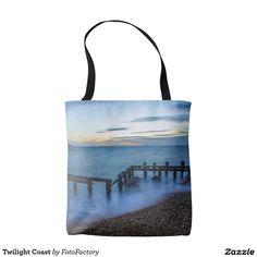 Twilight Coast Tote Bag