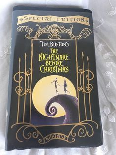 The Nightmare Before Christmas VHS Special Edition Tim Burton Movie Animated in DVDs & Movies, VHS Tapes | eBay