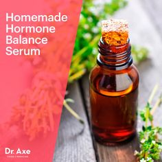 This Homemade Hormone Balance Serum includes two of the top three essential oils for hormones. With equal parts clary sage oil and thyme oil — 30 drops each — this recipe is chock-full of beneficial effects.Homemade Hormone Balance Serum - Dr.Axe