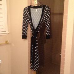 DVF Diane von Furstenberg star wrap dress DVF Diane von Furstenberg star wrap dress, worn only once Diane von Furstenberg Dresses