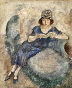 Reading and Art: Jules Pascin