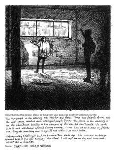 Drawing On The Past: Caroline Krajenbrink