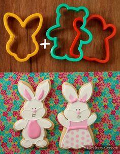 Bunnies, bunnies and more bunnies.   Klickitat Street