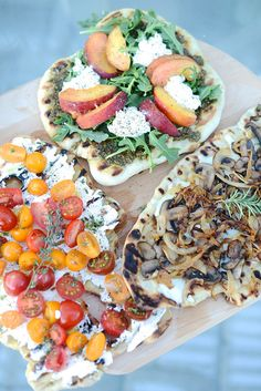 How to grill pizza with Trader Joe's ingredients. Method from @marmar