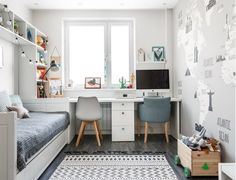 Kids room ideas for boys teen interior design 34 Ideas Teen Room Decor Ideas Boys design Ideas Interior Kids Room Teen Kids Bedroom Designs, Kids Room Design, Small Room Design, Girl Room, Girls Bedroom, Bedroom Decor For Boys, Kids Bedroom Ideas, Bedroom Desk, Nursery Ideas