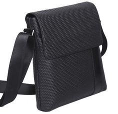 NEW Real soft leather Mens boy's Fashion Satchel shoulder Messenger sling bag #TIDING #MessengerShoulderBag