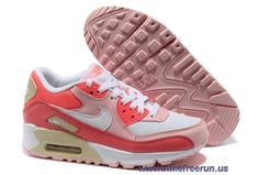 huge discount 2774a 69bcb New Nike Air Max 90 Hot Punch White Storm Pink Beach Womens Shoes Nike Air  Max