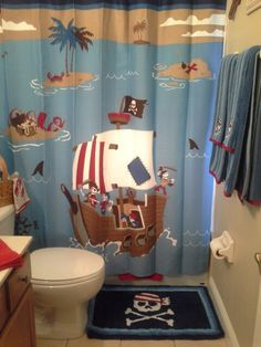 Pirate bathroom for Max