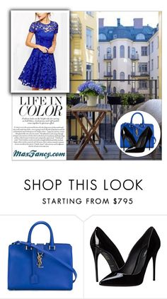"""MaxFancy"" by water-polo ❤ liked on Polyvore featuring Yves Saint Laurent, Dolce&Gabbana and polyvoreeditorial"