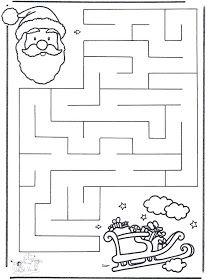 X-mas labyrinth 2 - Craft Christmas Christmas Maze, Preschool Christmas, Christmas Activities, Christmas Crafts For Kids, Xmas Crafts, Christmas Colors, Christmas Themes, Preschool Activities, Christmas Holidays