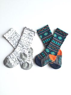Baby and toddler knee high socks package of 2 Baby socks Boot Socks in  Aztec prints baby shower gif fbfecb062d67
