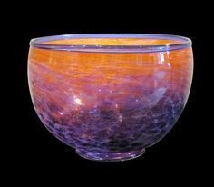 Lucas Salton Studio Glass Bowl