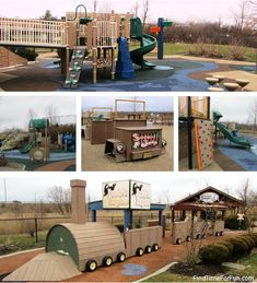 Play Structures at Preston's Hope Playground
