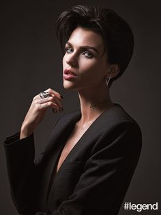 ruby rose outfits best outfits - Page 67 of 100 - Celebrity Style and Fashion Trends Ruby Rose Hair, Ruby Rose Style, Ruby Rose Model, Rubin Rose, Short Hair Cuts, Short Hair Styles, Michelle Williams, Woman Crush, Girl Crushes