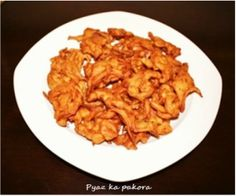 Pyaz ka pakoras (Onion pakoras fritter) - North Indian Cooking by..Geeta Seth