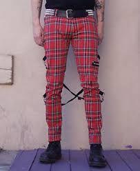 Bonito Lo Dudo Dia Pantalones Punk Cuadros Hombre Rogernelson Net