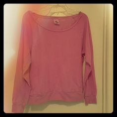 Victoria's Secret Long Sleeve Tee Purple Long Sleeve Tee from Victoria's Secret. Worn gently and in great condition.  Super comfy and perfect for Winter!  60% Cotton 40% Polyester Victoria's Secret Tops Tees - Long Sleeve