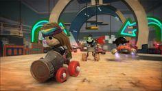 Acelere em novas imagens de LittleBigPlanet Karting