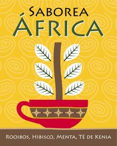 Saborea África en Tea Shop Design, Hibiscus, Shopping, Mint, Design Comics