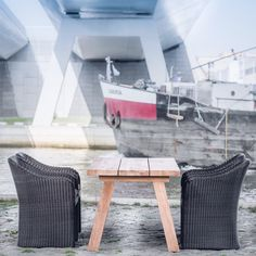 Outdoor collection Gommaire, armchair Octavia