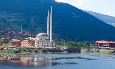 Mosque at Trabzon, in the Caykara District of Trabzon Province in Turkey