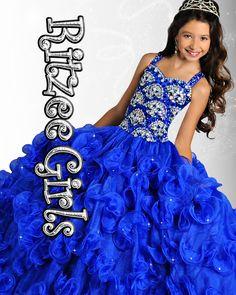 Ritzee Girls 6905 Pageant Dress | Little Girls Pageant Dress