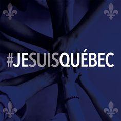Suite aux attentats survenus dans une mosquée de Québec hier soir, nous tenons à utiliser les médias sociaux afin de transmettre nos pensées à toutes les personnes touchées de près ou de loin. Aujourd'hui, nous sommes Québec. Soyons unis.  #JeSuisQuébec #AttentatsQuébec