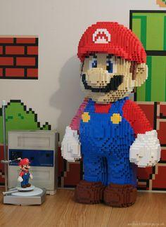 レゴブロックマリオ