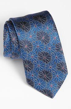 Ermenegildo Zegna Woven Silk Tie.