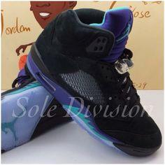 458260fd57a Air Jordan 5 BLACK GRAPE Jordan Retro V