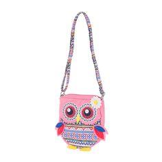 Kids Aztec Owl Crossbody Bag   Claire's