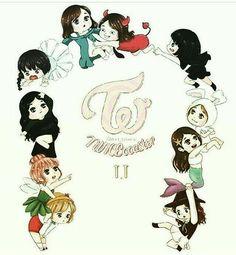 I love this a bit too much🙊🙈❤️ Nayeon, K Pop, Twice Fanart, Jihyo Twice, Fun Songs, Twice Kpop, Kawaii Chibi, Dahyun, Kpop Fanart
