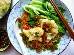 "3 hungry tummies: Dry Tossed Wonton Noodles 乾撈雲吞麵 - ""Malaysian Monday 22"""