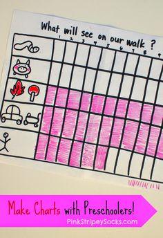 Pink Stripey Socks: Preschool Science:  Let's Make Charts!