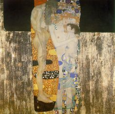 The Three Ages of Woman, Gustav Klimt 1902