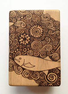 TOMOT Woodburning works by Tomomichi Suzuki, via Behance