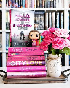 Happy Tuesday Bookworms!!  - Qotd: Whats your favorite color?? - Mine is most definitely gray but I also love pink as well. I do not own nearly enough pink books unfortunately. I should totally find more to add to my collection!  - Today is my youngest daughters birthday!! I wish we could spend the day celebrating but she has a basketball game tonight to cheer for tonight. But at least there will be cake!!  (For them not for me. ) Im hoping to sneak in some reading time today as well. Ive gotten Book Boyfriends, Ya Books, Daughter Birthday, Book Aesthetic, Happy Tuesday, Book Photography, Fashion Books, Book Nerd, Bookstagram